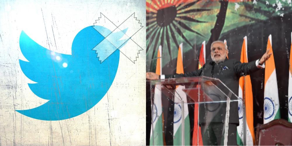 narendra modi twitter censorship