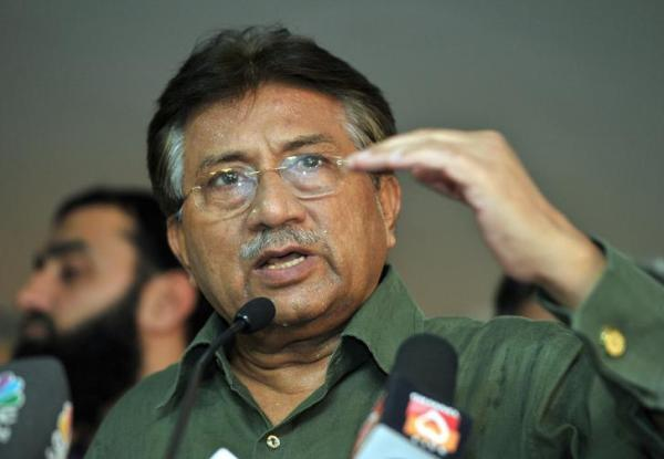 Pakistan's former President Pervez Musharraf speaks during a news conference in Dubai March 23, 2013. Credit:Reuters