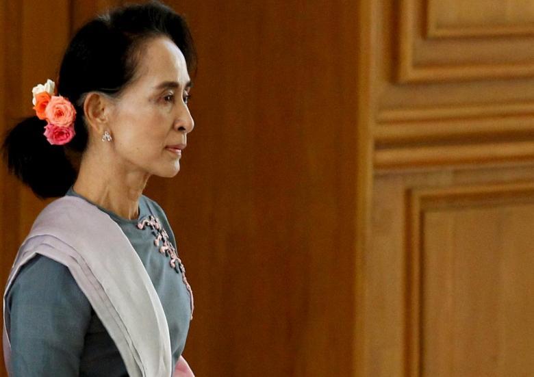 Aung San Suu Kyi. Credit: Reuters