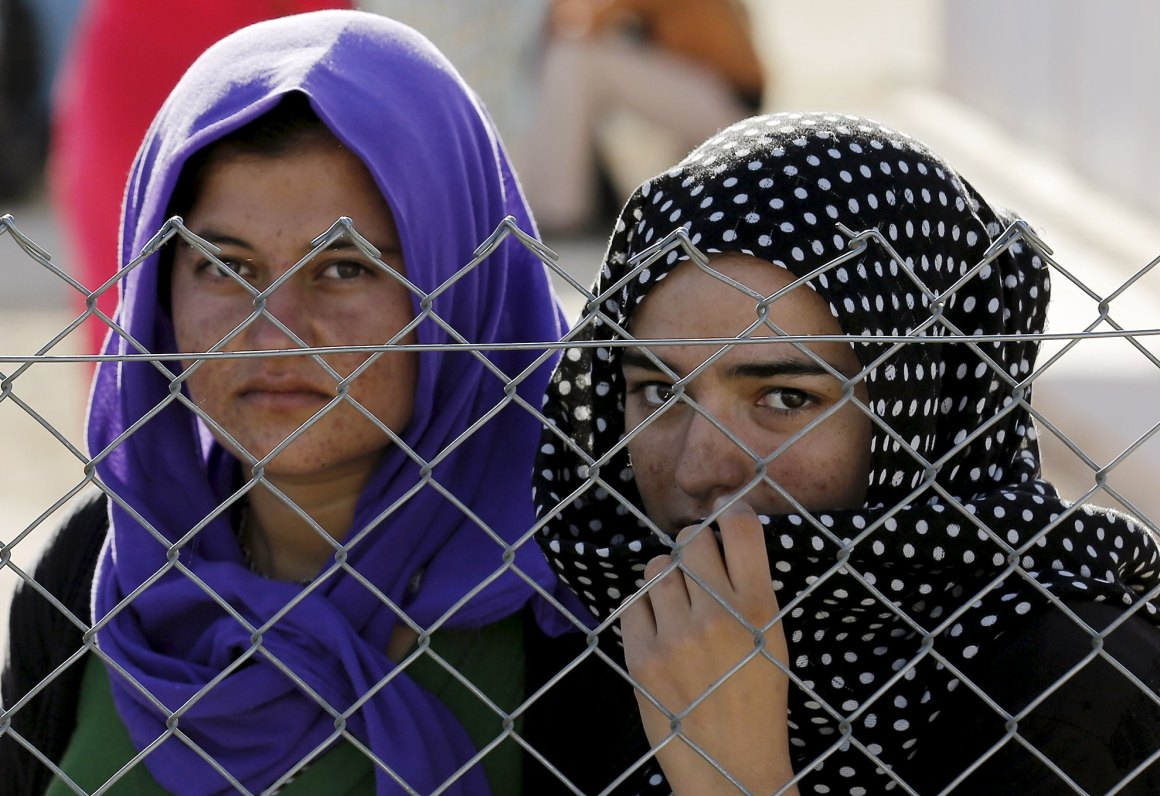 Women in crisis settings, such as refugee camps and war zones, are particularly likely to experience sexual assault. Credit: Reuters