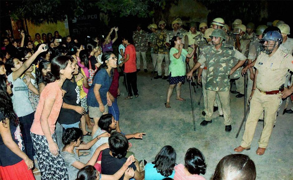 Image result for banaras hindu university women protest