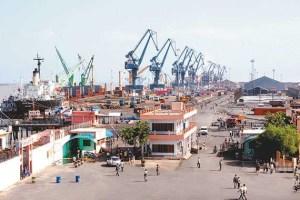 Kandla Port, now Deendayal Port. Credit: Wikipedia