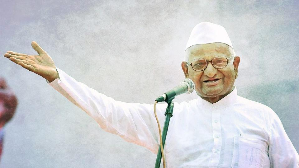 Social activist Anna Hazare. Credit: PTI