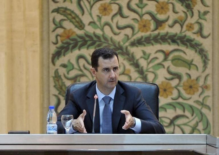 Syria's President Bashar al-Assad. Credit: Reuters