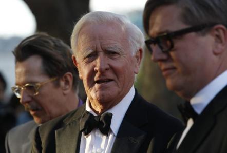 British author John Le Carre. Credit: Reuters