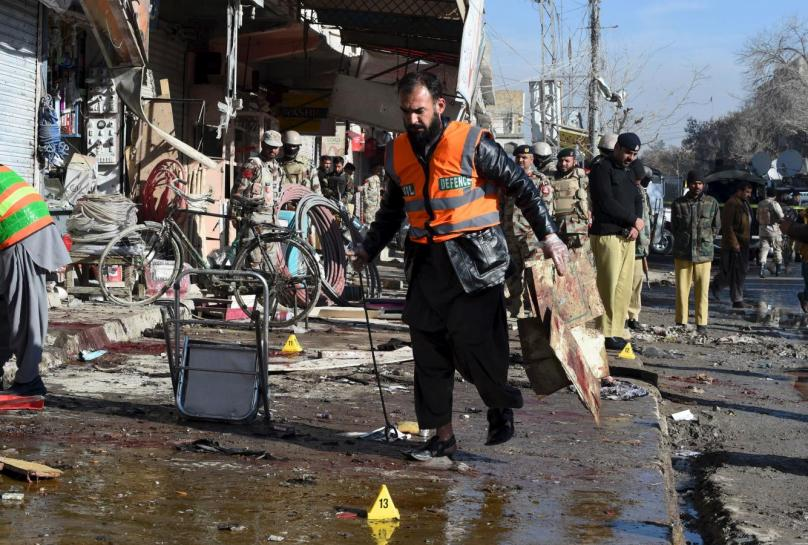 12 killed as deadly blast hits shrine in Balochistan