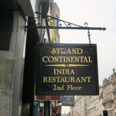 India Club at the Strand Continental Hotel. Courtesy: India Club