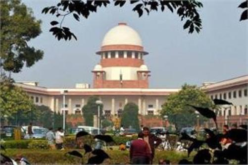Supreme Court in New Delhi. Credit: PTI