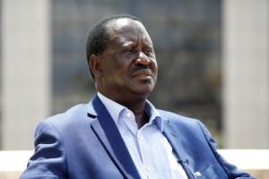 Kenyan opposition leader Raila Odinga of the National Super Alliance coalition speaks during an interview with Reuters in Nairobi, Kenya November 7, 2017. Credit: Reuters/Baz Ratner