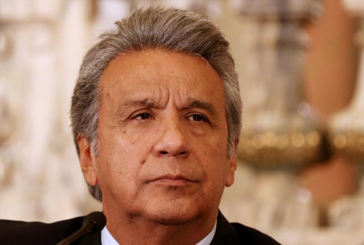 Ecuador's President Lenin Moreno. Credit: Reuters