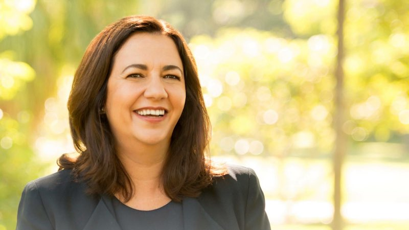 Queensland premier Annastacia Palaszczuk is running for reelection in the northeastern-most state of Australia. Credit: Annastacia Palaszczuk/Twitter