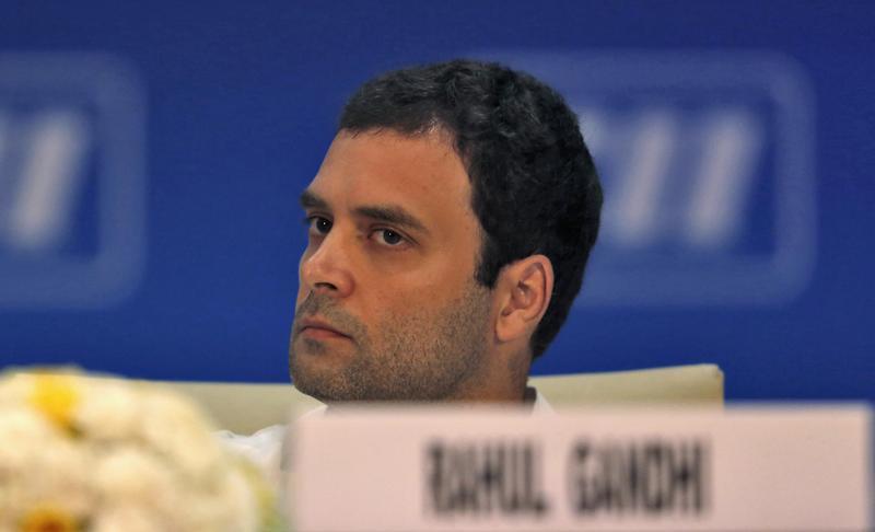 Rahul Gandhi. Credit: Reuters