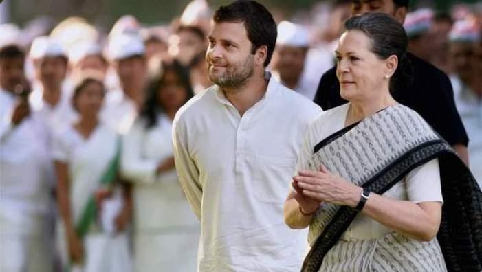 Rahul Gandhi and Sonia Gandhi. Credit: PTI