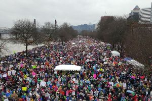 Women's March in Portland, United States. Credit: Wikimedia Commons