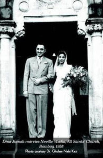 Dina Jinnah's wedding. Credit: Andrew Whitehead's blog