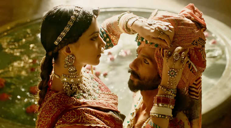 A still from <em>Padmavati</em>.