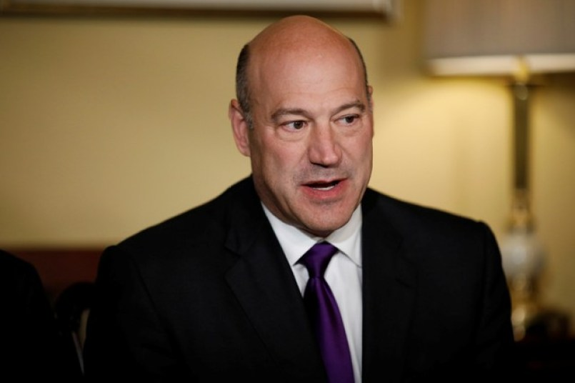 Director of the National Economic Council Gary Cohn speaks during an event to introduce the Republican tax reform plan at the US Capitol in Washington, US, November 9, 2017. Credit: Reuters/Aaron P. Bernstein