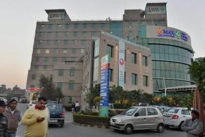 Max Hospital, Shalimar Bagh. Credit: PTI