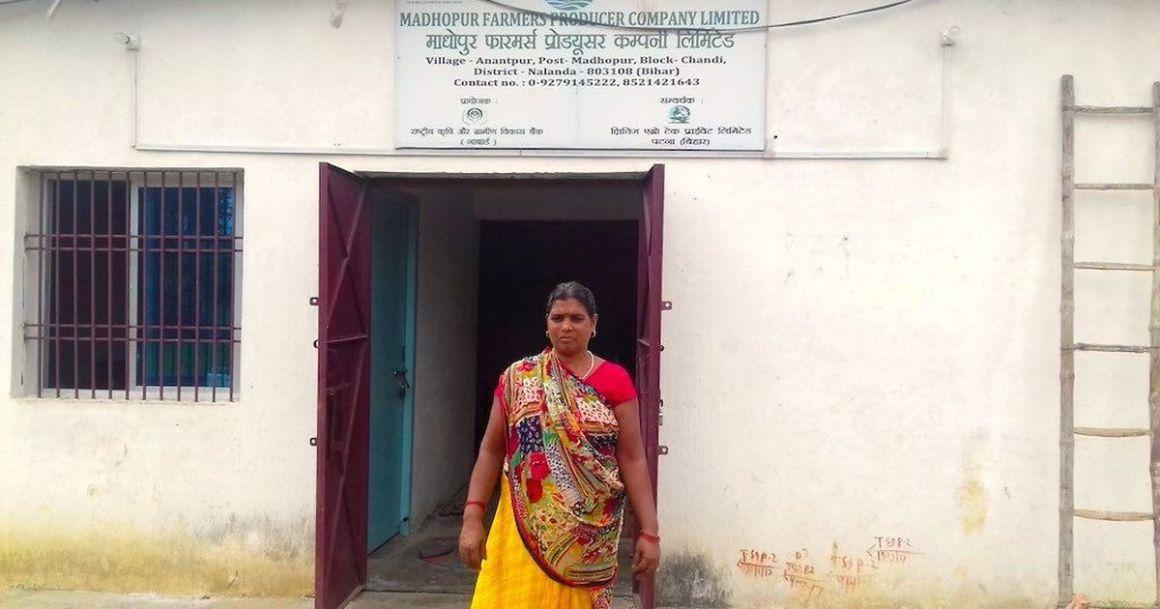 The successful mushroom farmer and entrepreneur of Nalanda. Credit: Mohd Imran Khan