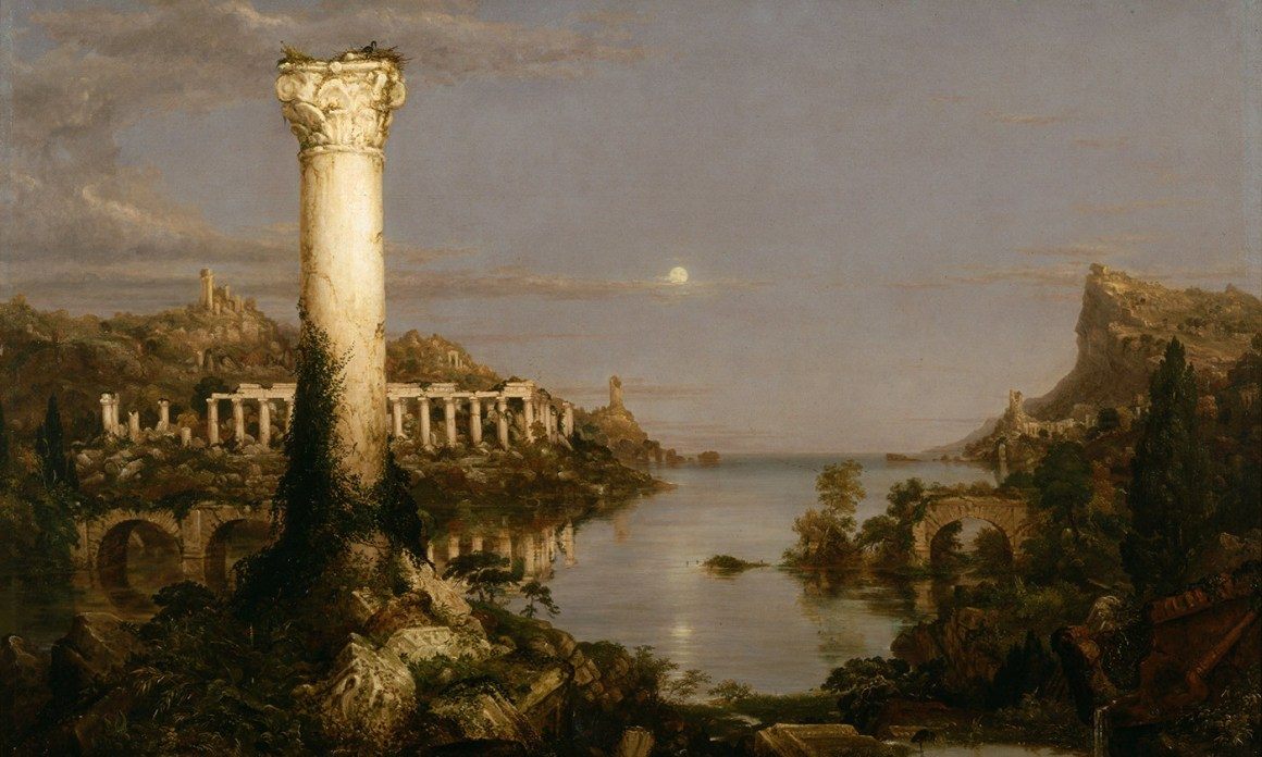 Thomas Cole's The Course of Empire: Desolation, 1836. Credit: New York Historical Society/Wikipedia