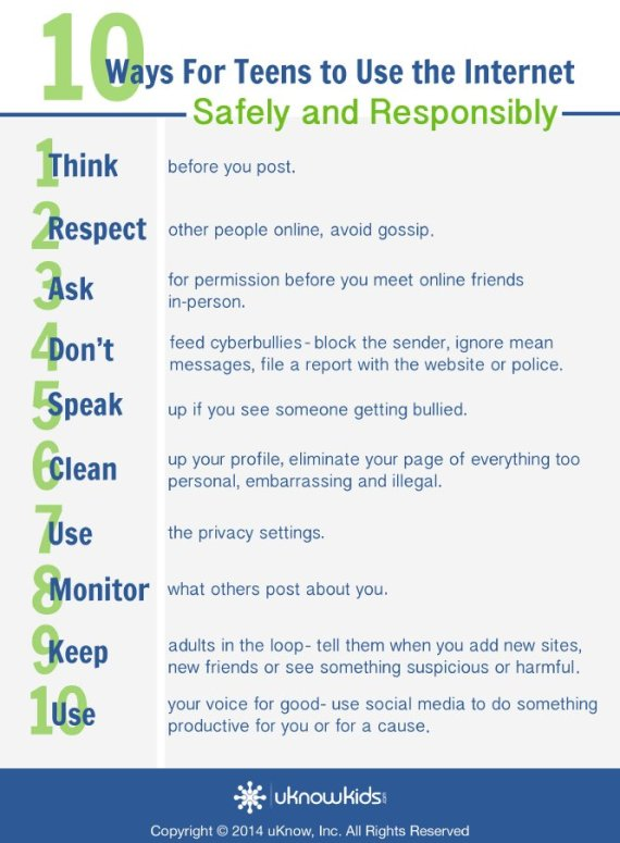 10 Internet Safety Tips