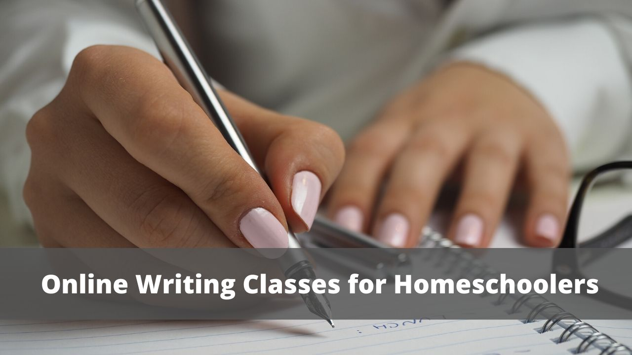 Online Writing Classes for Homeschoolers
