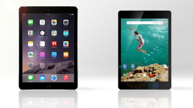 9-inch tablet showdown google nexus vs ipad air 2
