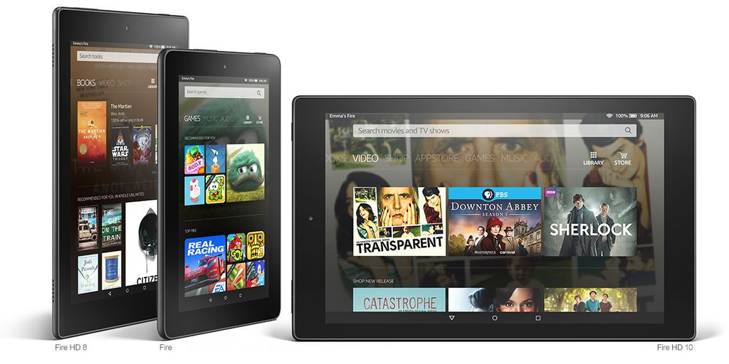 Amazon Announces New Kindle Fire Tablets
