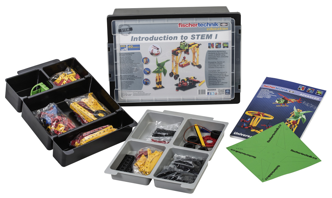 fischertechnik Introduction to STEM I & II Kits – Review – WHS 180