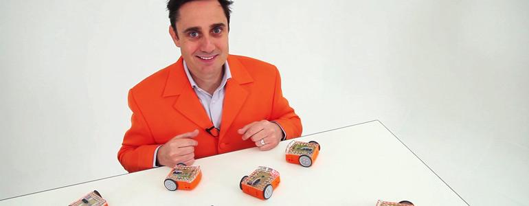 Brenton O'Brien and Edison Robot