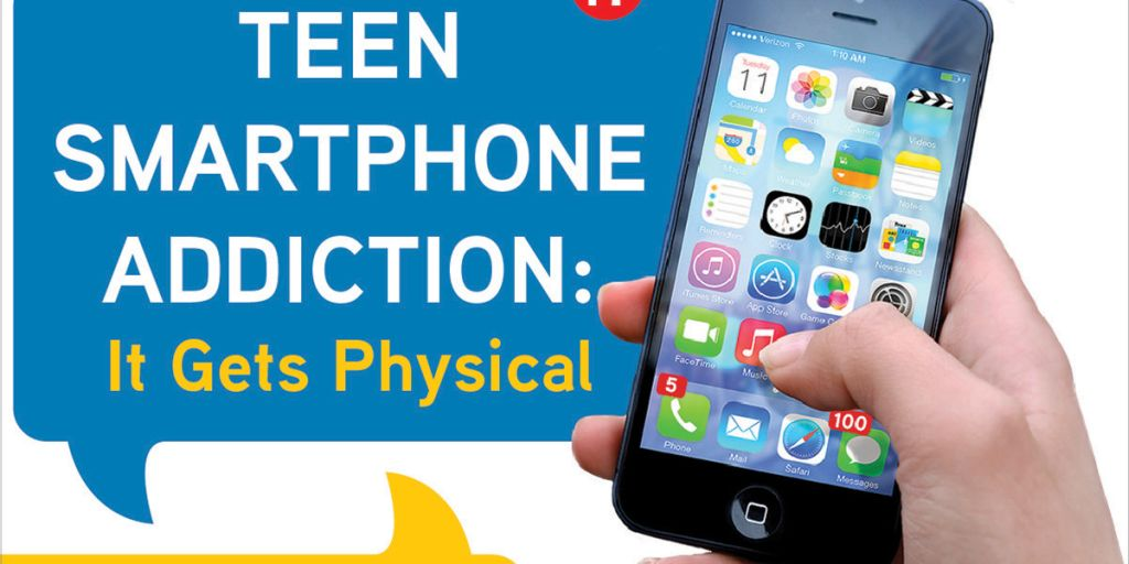 Teen Smartphone Addiction – It's Real & Physical [Infographic]