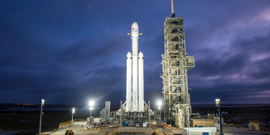 Falcon heavy Launch Homeschooler's Guide