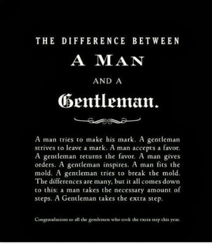Man vs Gentleman