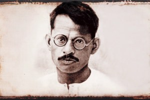 गणेश शंकर विद्यार्थी. (जन्म: 26 अक्टूबर 1890 – मृत्यु 25 मार्च 1931)