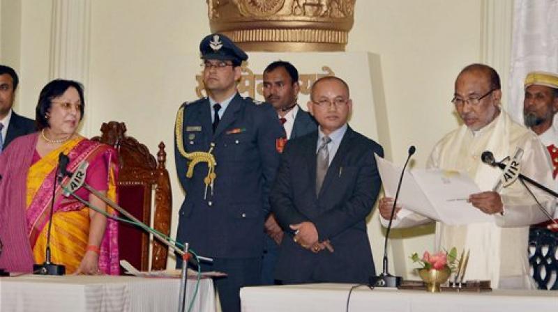 N Biren Singh