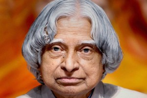 New Delhi : File photo of former president APJ Abdul Kalam who passed away in Shillong on Monday. He was 83. PTI Photo    (PTI7_27_2015_000269B)