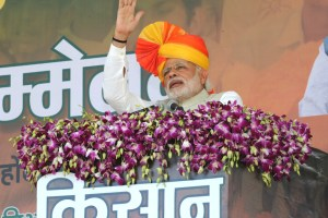 The Prime Minister, Shri Narendra Modi addressing the gathering at Kisan Kalyan Mela, in Sehore, Madhya Pradesh on February 18, 2016.