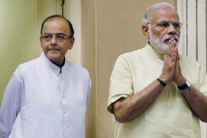 Narendra Modi Arun Jaitley PTI