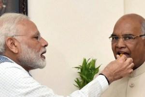 Narendra Modi Ramnth Kovind PTI