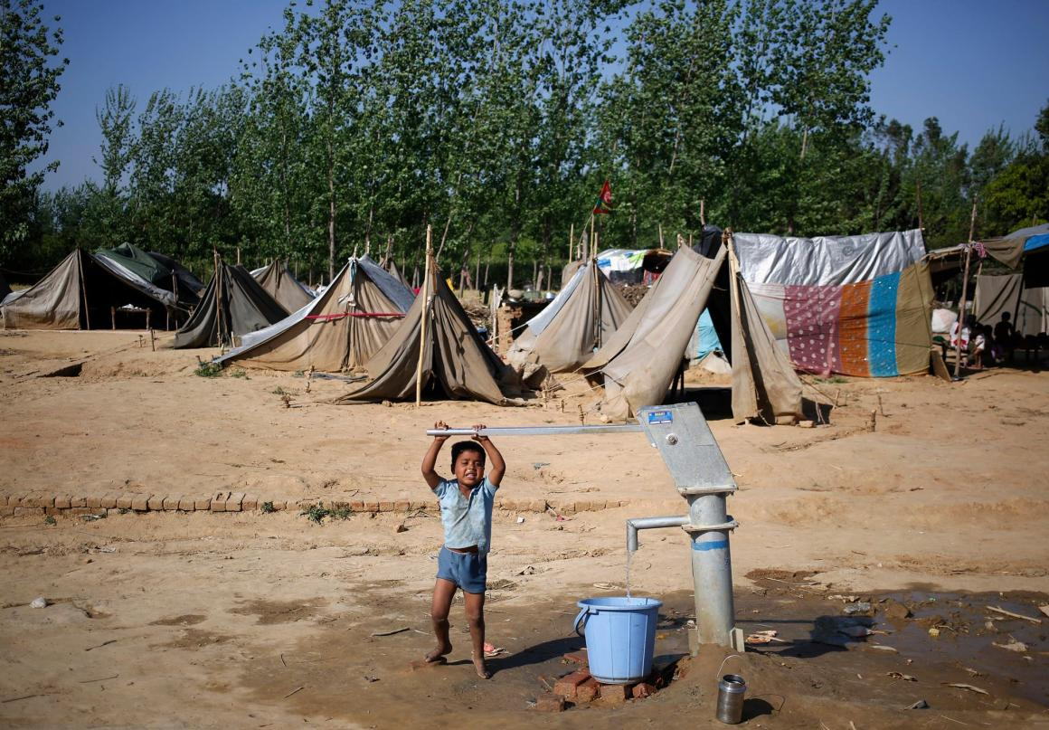 Muzaffarnagar Riot Relief Camp Reuters
