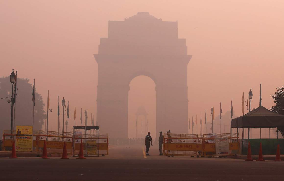 Delhi Air Pollution Reuters
