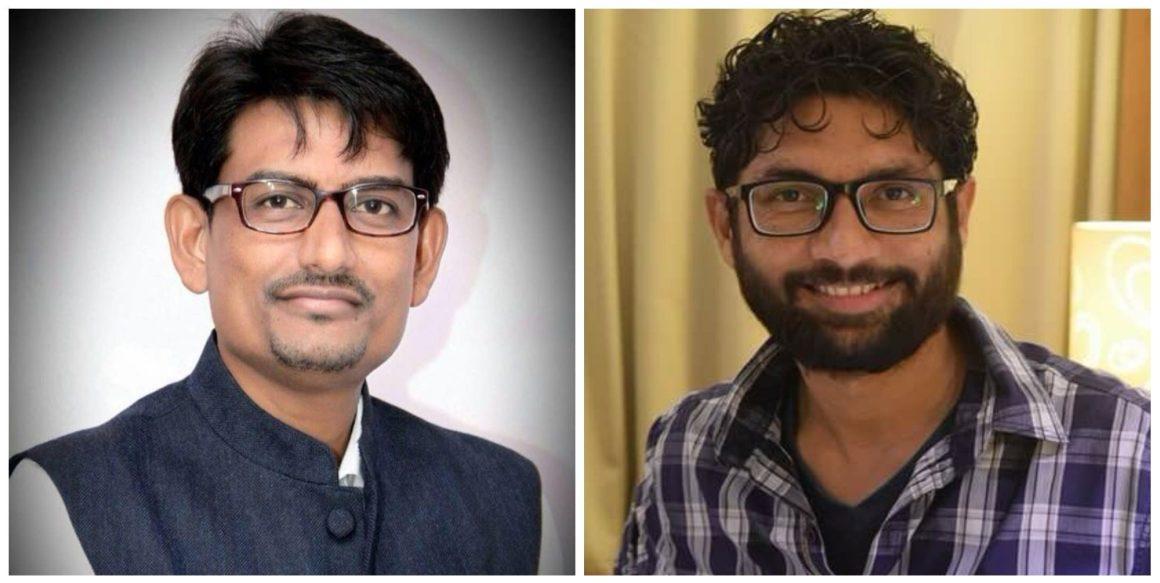 अल्पेश ठाकोर और जिग्नेश मेवाणी. (फोटो साभार: फेसबुक)
