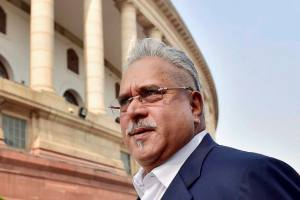 "New Delhi: A file photo of liquor baron Vijay Mallya. MEA (Ministry of External Affairs) revoked Mallya's passport under S.10(3)(c) & (h) of Passports Act,"" foreign ministry spokesman Vikas Swarup tweeted on Sunday.   PTI Photo  (PTI4_24_2016_000134B) *** Local Caption ***"