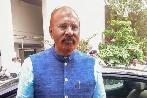 Ahmedabad: Former police officer DG Vanzara arrives at a special CBI court for a hearing in the alleged fake encounter case of Ishrat Jahan and others, in Ahmedabad on Tuesday, August 07, 2018. CBI court today rejected the discharge applications of former Gujarat Police officers D G Vanzara and N K Amin in the said case. (PTI Photo/Santosh Hirlekar) (Story no LGB4)(PTI8_7_2018_000172B)