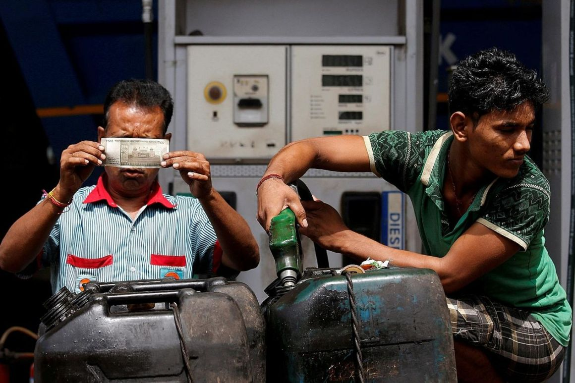 Petrol Price Rupee Reuters 2