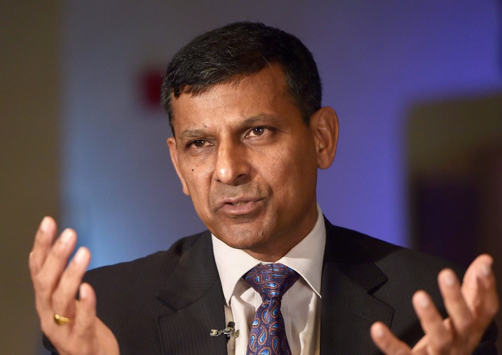 **FILE** Chennai: In this file photo dated Sept 5, 2017, former RBI Governor Raghuram G Rajan speaks at an event in Chennai. Rajan, in a note to Parliamentary panel, has said over optimistic bankers, slowdown in government decision making process and moderation in economic growth mainly contributed to the mounting bad loans. (PTI Photo) (PTI9_11_2018_000148B)