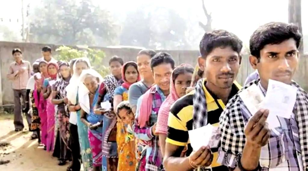Voting for 18 assembly constituencies of Chhattisgarh, including 12 'red zone' seats, in the first phase will take place in on Monday.(PTI)