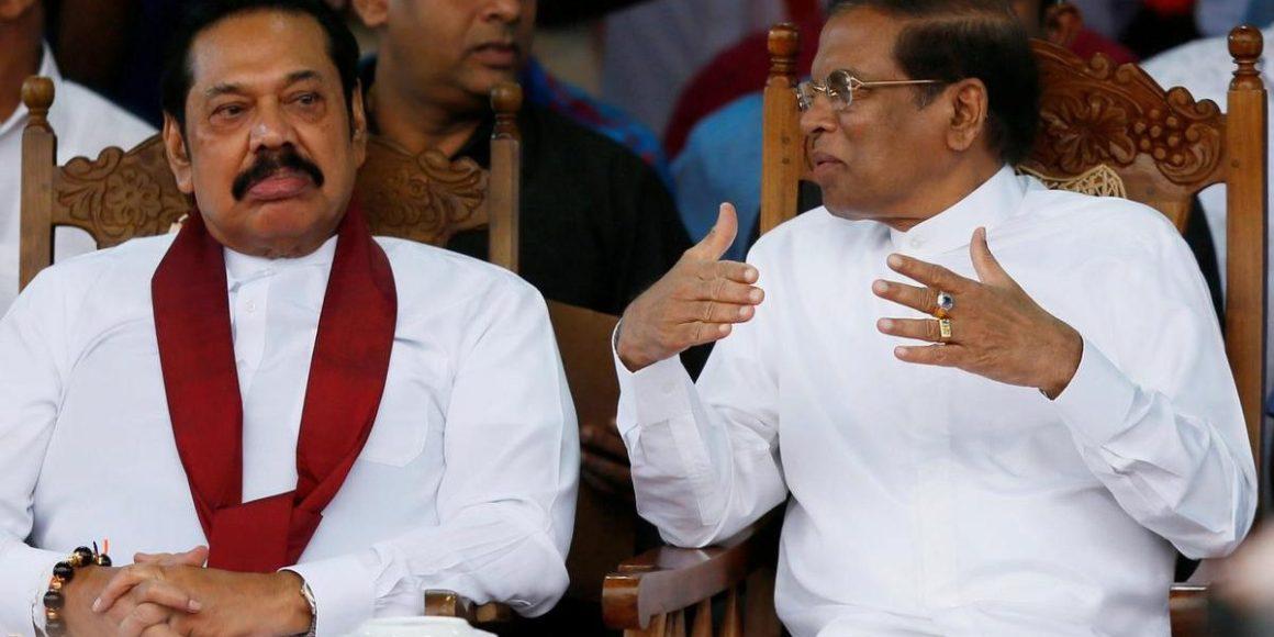 Mahinda Rajapaksa and Maithripala Sirisena Reuters
