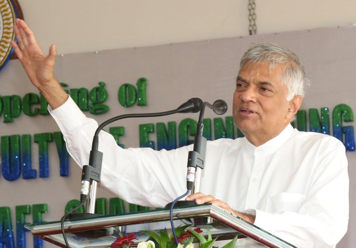 श्रीलंका के प्रधानमंत्री रानिल विक्रमसिंघे. (फोटो साभार: ट्विटर)