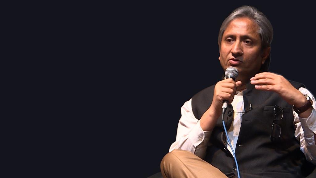 पत्रकार रवीश कुमार। (फोटो: द वायर)